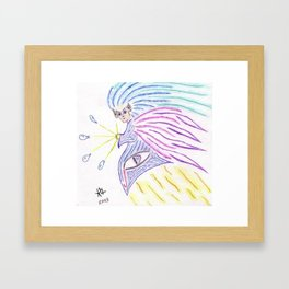 Warrior Spirit Framed Art Print