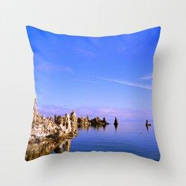 Reflections at Mono Lake Throw Pillow