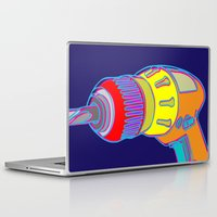 tool Laptop & iPad Skins featuring Power Tool by Paco Dozier