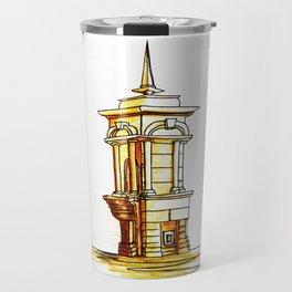 old town . fountain Travel Mug