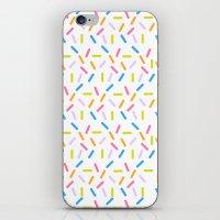 sprinkles iPhone & iPod Skins featuring Sprinkles by Vera Mota