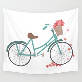 Bicycle Rides Wall Tapestry