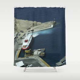 Crete, Greece 10 Shower Curtain