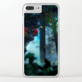 Watching Over You Clear iPhone Case