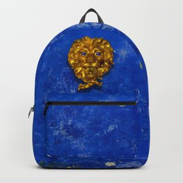 Golden Lion and Blues Backpack