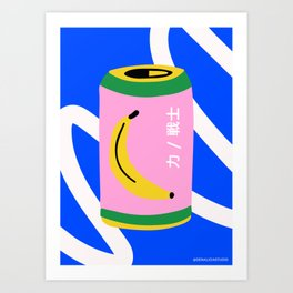 Magic can Art Print