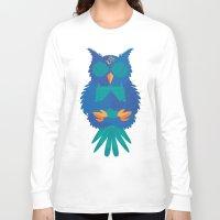 coachella Long Sleeve T-shirts featuring Wide Awake by Dulce Velasco
