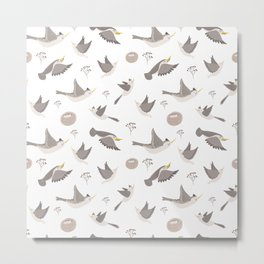 spring birds Metal Print