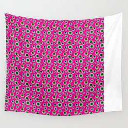 I only Have Eyes for You (on Manic Magenta background)  Wall Tapestry