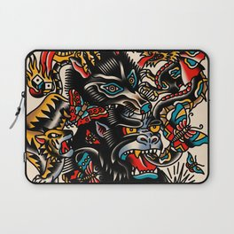 Traditional mess Laptop Sleeve