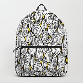 Vagina - Rama, White with Yellow Backpack
