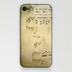 Passions Unsung  iPhone & iPod Skin