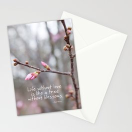 Life without love... Stationery Cards