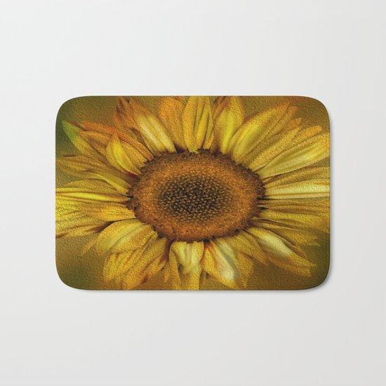 Sunflower - Vintage Bath Mat