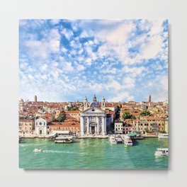 Venice, Italy Grand Canal Metal Print