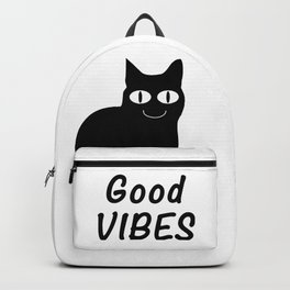 Good Vibes Cat Backpack