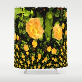 A rose is a rose is a rose.... Shower Curtain
