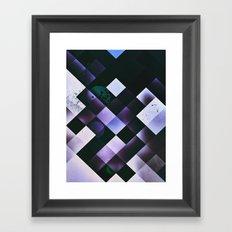 tyle nyte Framed Art Print