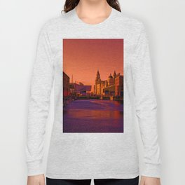 Albert Dock And the Pier Head Long Sleeve T-shirt