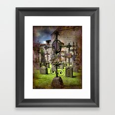 Rust to Rust Framed Art Print