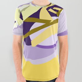 Abstract Submarine All Over Graphic Tee