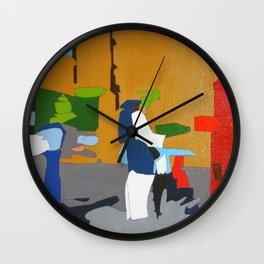 Mrs. Rose Wall Clock