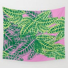 Zebra Plant  Wall Tapestry