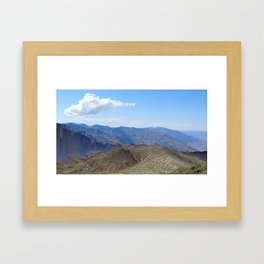 The End of the World as we know it Framed Art Print