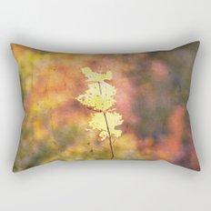 Seasonal Closeup - Autumn Rectangular Pillow