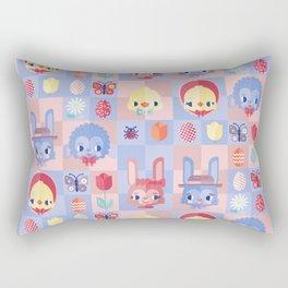 Happy Easter! Pattern Rectangular Pillow