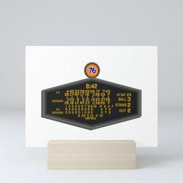 1988 World Series Baseball Scoreboard Mini Art Print