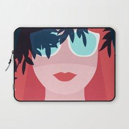 Red Hair Woman Laptop Sleeve