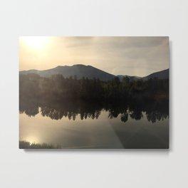 Sunrise over Glacier National Park Metal Print