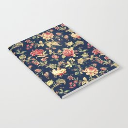 Shabby Floral Print Notebook
