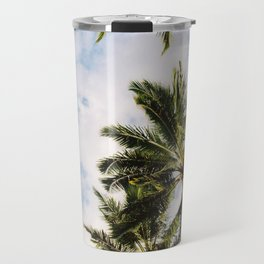 Palm tree in Cairns Travel Mug