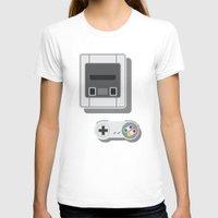 nintendo T-shirts featuring Super Nintendo by Di No