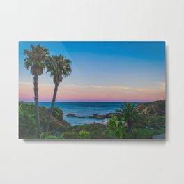 Gorgeous Sunset Beach Metal Print
