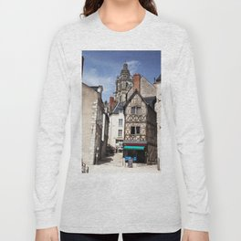 Cottage rustic house, French countryside, summer holiday Long Sleeve T-shirt