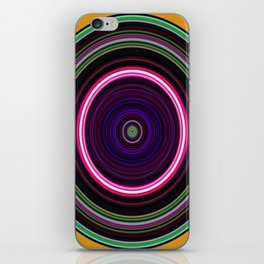 Circles iPhone Skin