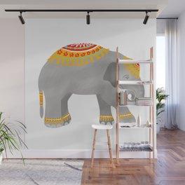 Little Elephant, Baby Elephant, Elephant Illustration, Circus Elephant Wall Mural