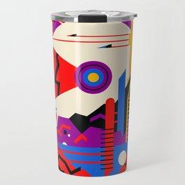 Mars - NASA Space Travel Poster (Alt) Travel Mug