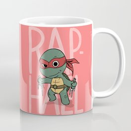 TMNT: Raphael (Cute & Dangerous) Coffee Mug