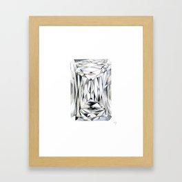 No Pressure No Diamonds Framed Art Print