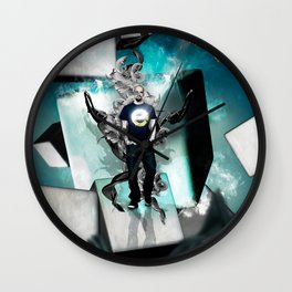 Esteem - Self Portrait Wall Clock