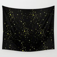 starry night Wall Tapestries featuring Starry night by haroulita