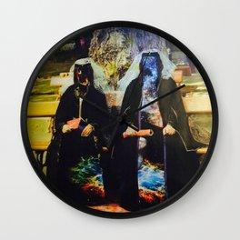galaxy nuns Wall Clock
