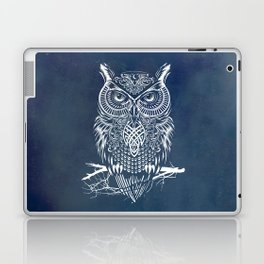 Warrior Owl Night Laptop & iPad Skin