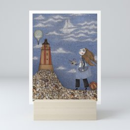 Ship in the Sky Mini Art Print