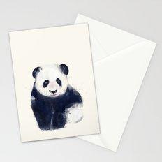 little panda bear Stationery Cards