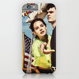 lana del ray rockwell 2021 iPhone Case